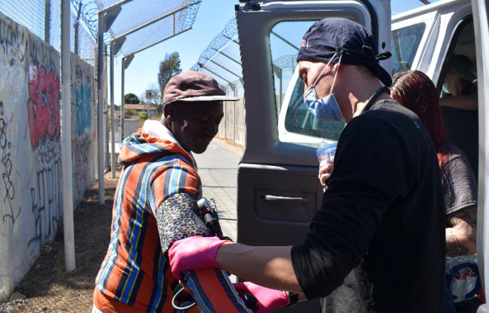 Nursing students join outreach efforts at Richmond encampments