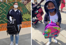 Partnership yields 700 backpacks for San Pablo students