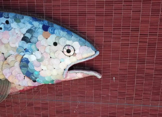What's up with the fish? Virtual tour details Civic Center public art