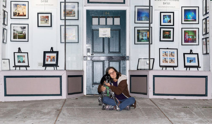 Mindy Pines' works featured in exhibition at Point Richmond post office