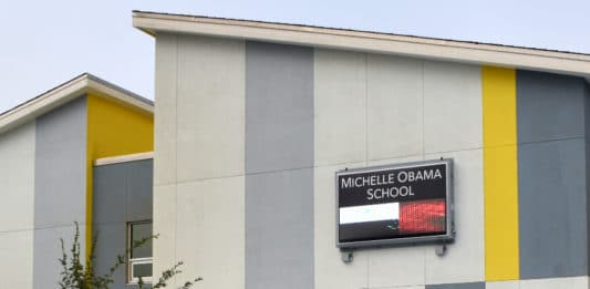 Details on Michelle Obama School virtual grand opening Thursday