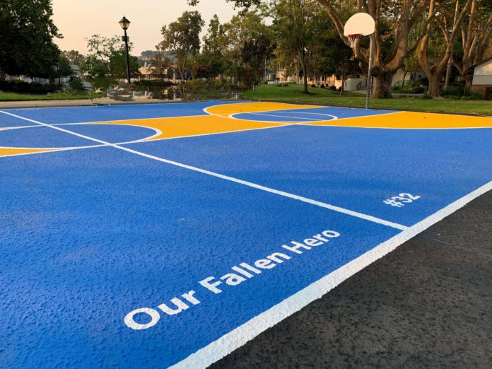 Basketball court dedicated to David Patrick Underwood opens to public
