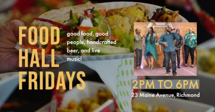 Bridge's Foodhall Fridays offer up freshly prepped food, live music & more