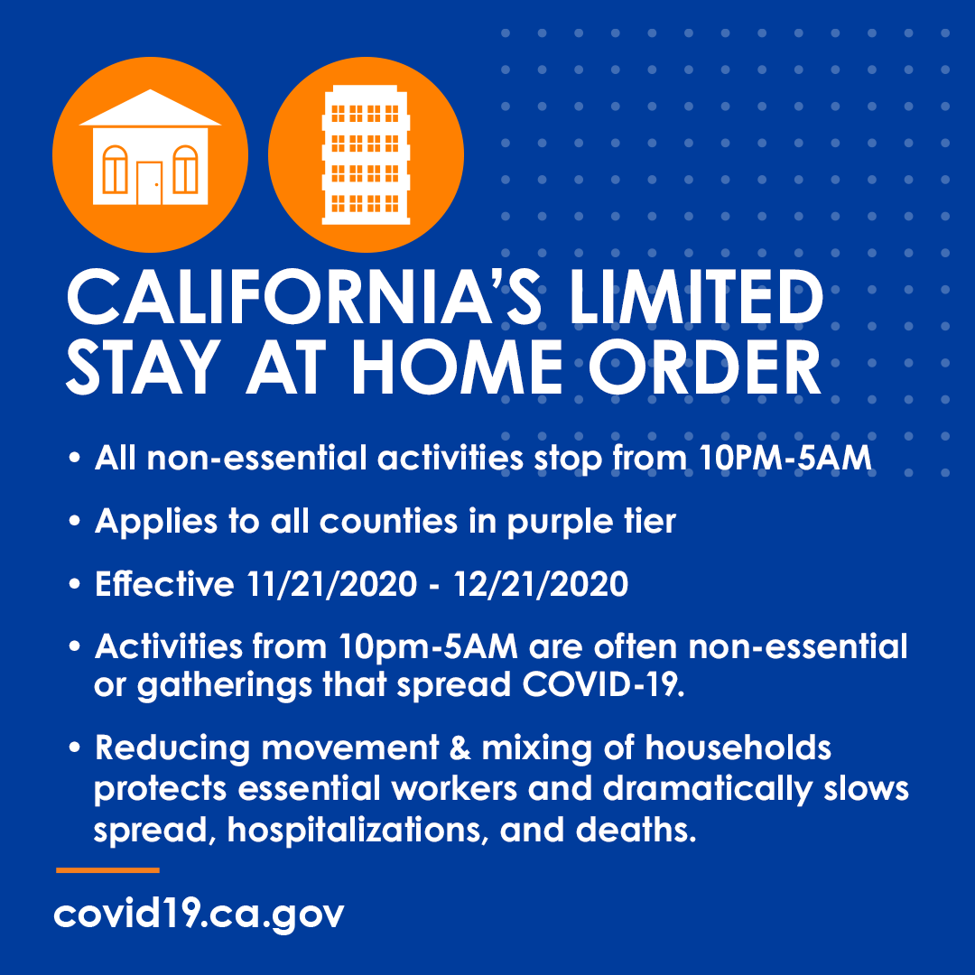 Covid 19 Curfew Coming To Contra Costa County Richmond Standard