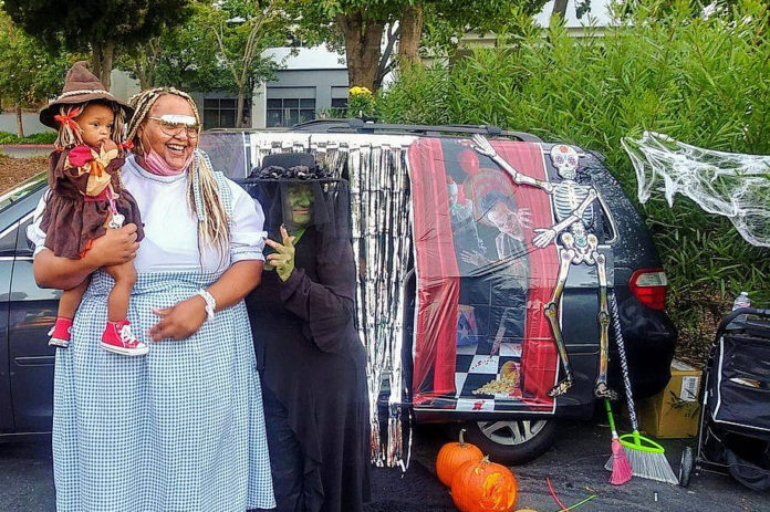 Truck or Treat Halloween held for children experiencing homelessness