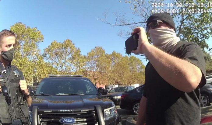 Pinole police release video response to encounter with YouTuber