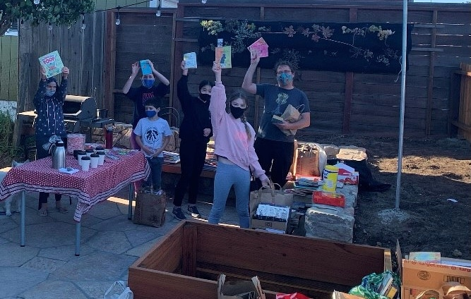 Girl Scouts get bookish to benefit Lincoln Elementary
