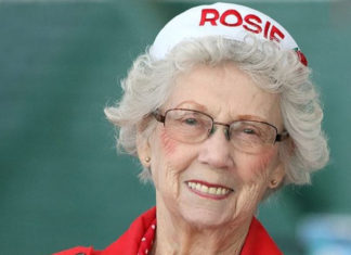 Rosie wartime worker and volunteer celebrates 95th birthday