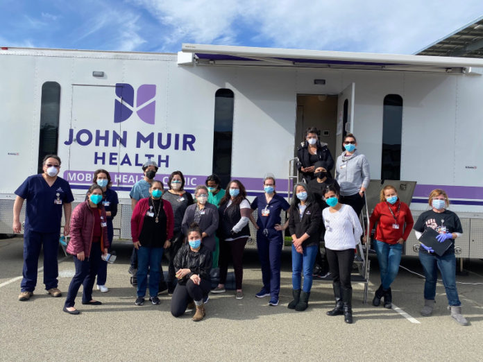 Drive thru mobile clinics to offer COVID vaccines in Richmond and San Pablo