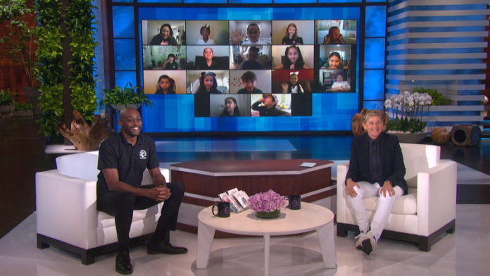 Richmond principal returns to The Ellen DeGeneres Show to play 'What's In The Box'