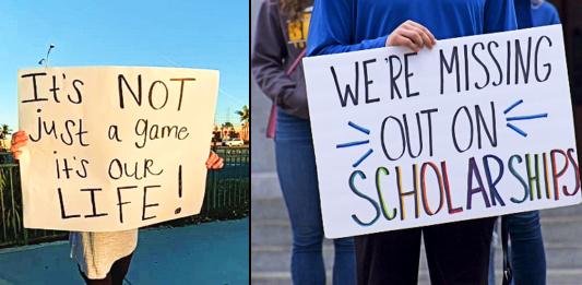 Ban on indoor high school sports taken to court