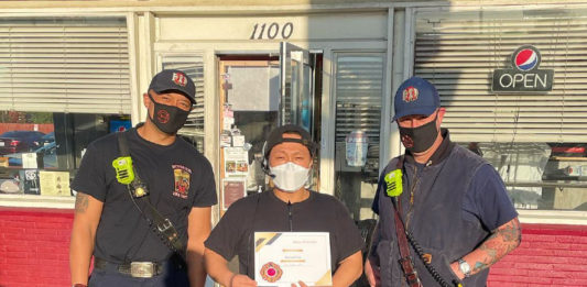 Richmond firefighters name Philaburger owner 'Citizen of the Year'