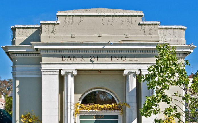 National Register #96001175 Bank of Pinole