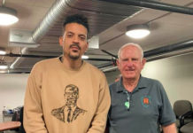 Former NBA player Matt Barnes visits Richmond to observe public safety program