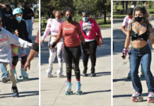 Soulful Softball Sunday invites community to 80s themes roller-skate party