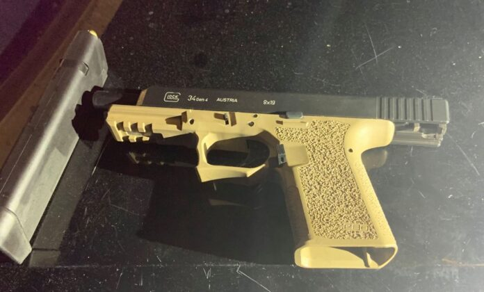 Hercules police seize two loaded firearms with ghost gun frames