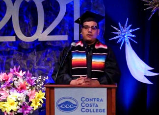 Contra Costa College graduation brings together families, friends and celebs