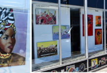 Art in Windows exhibitions featured at two downtown locations