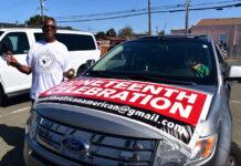 Richmond celebrates Juneteenth with cross-town caravan, rally