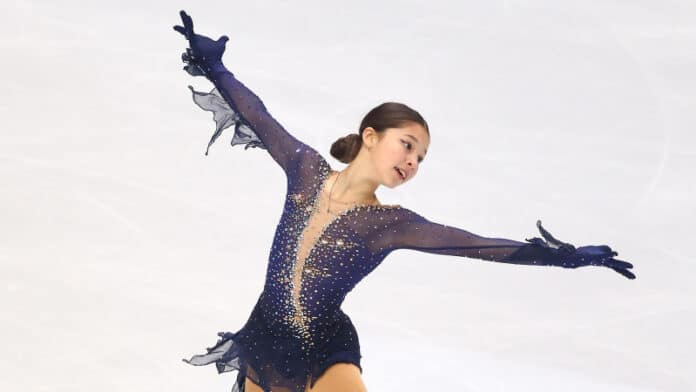 Richmond's Liu to make senior international skating debut