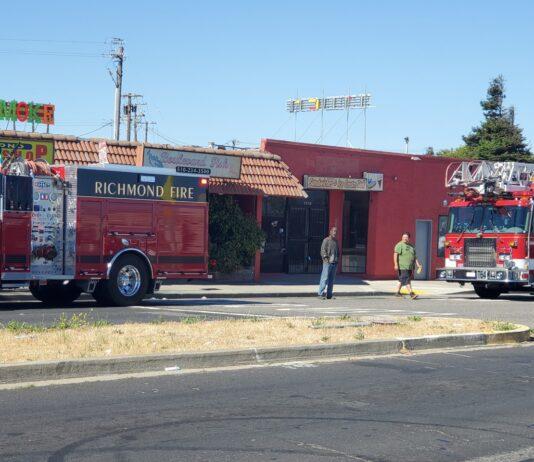 Firefighters prevent spread of Richmond debris fire