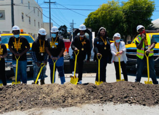 Groundbreaking celebrated for Yellow Brick Road project in Iron Triangle