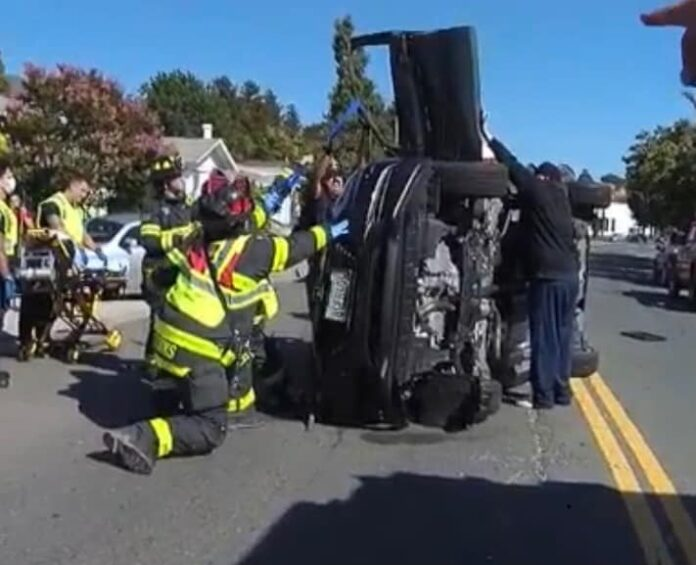 Driver in crash on Pinole Valley Road cited for DUI