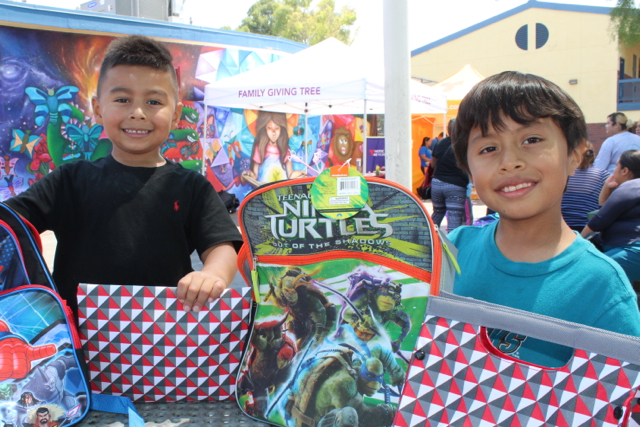 San Pablo back-to-school drive with Family Giving Tree enters 11th year