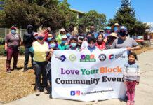 Over two dozens volunteers help spruce up Richmond Recreation Complex