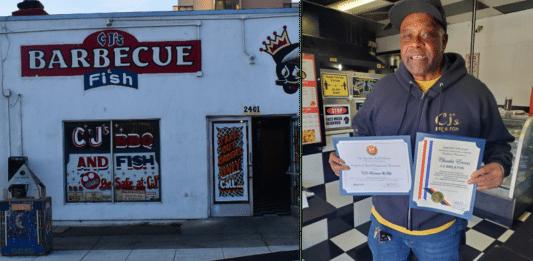 Richmond's iconic CJ's BBQ & Grill celebrated at anniversary gala