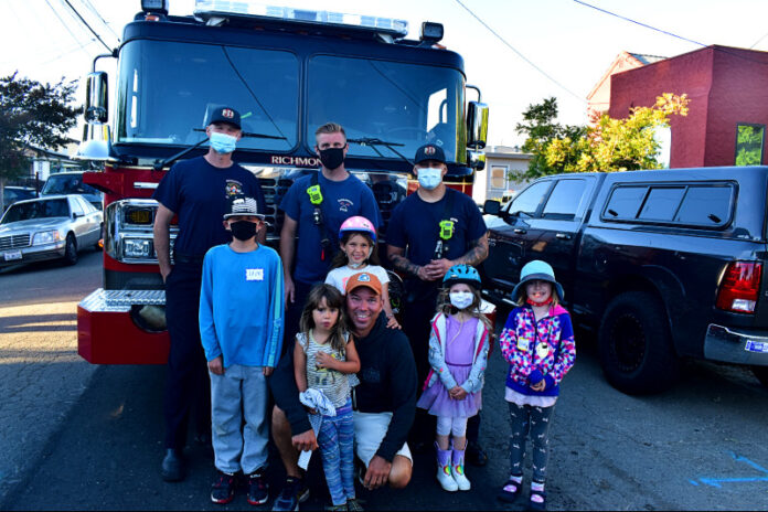 Richmond public safety officials bond with neighbors at NNO block parties