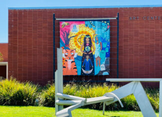 New youth-driven mural goes up outside Richmond Art Center
