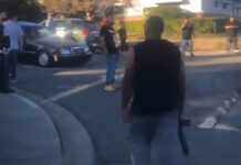 Upset neighbor armed with rifle disrupts Richmond sideshow