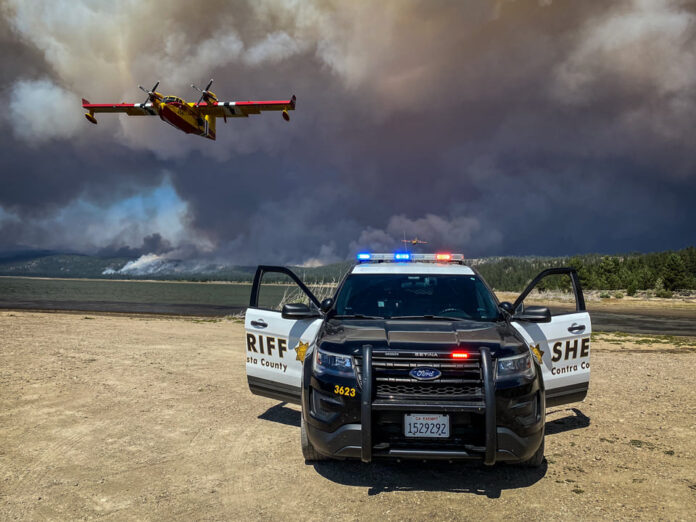Contra Costa County law enforcement personnel dispatched to Dixie Fire