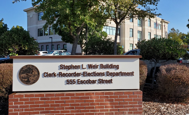 Contra Costa Clerk-Recorder-Elections facility to be dedicated as 'Stephen L. Weir Building'
