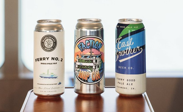 San Francisco Bay Ferry collaborates with local breweries