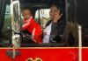 Richmond firefighters reunite with 'special delivery' baby