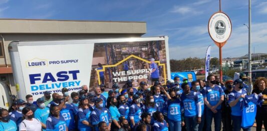 NFL's Najee Harris, 100 volunteers head up GRIP renovation