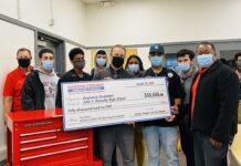 Kennedy High welding teacher wins $50K national teaching prize